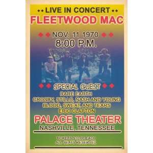 Fleetwood Mac   Rare Earth, Crosby Stills Nash and Young