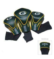 Green Bay Packers NFL Contour Wood Headcover Set