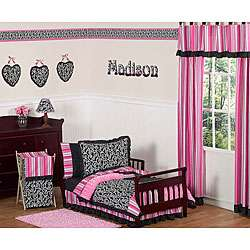 Madison Boutique 5 piece Toddler Girls Bedding Set