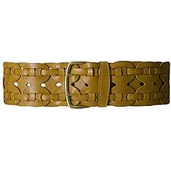 Linea Pelle Womens Braided Leather Belt