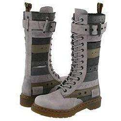 Dr. Martens Thema Belt Boot 14 Eye 1B99 Light Grey/Multi Colors