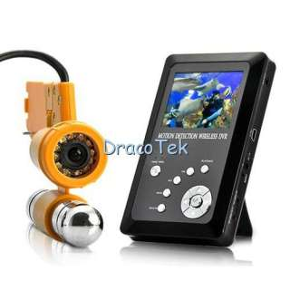 Professional Underwater CCD Video Camera with Wireless monitor and DVR
