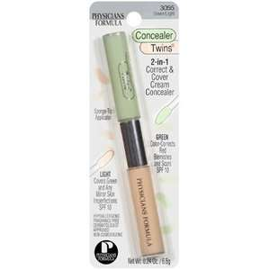 Physicians Formula Concealer Twins, Green Light 3055