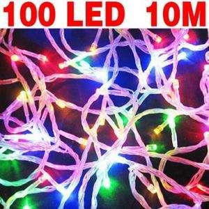 Multi Color 10M 100 LEDs Christmas String Fairy Lights