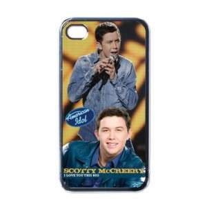American Idol Scotty McCreery iPhone 4 Hard Case Cover