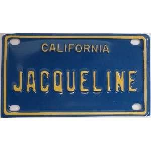 Mini Personalized California License Plate