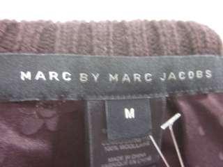 MARC BY MARC JACOBS Dark Purple Silk Printed Blouse M
