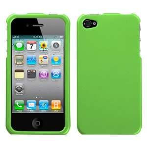 IPOD TOUCH 4TH GENERATION GREEN SOLID RUBBERIZED TEXTURE HARD CASE
