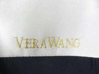 VERA WANG Navy Blue Silk Pants Slacks Sz 4