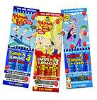 AND FERB & BIRTHDAY PARTY INVITATION TICKET 1ST  c2 INVITE CARD FIRST