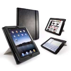 Tuff Luv Tri Stand Leather Case Cover for the New Apple iPad
