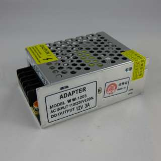 12V 3A DC Switching Power Supply CCTV 110V 220V OUT