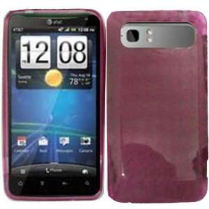 Hot Pink TPU Case Cover for HTC Vivid: Cell Phones & Accessories
