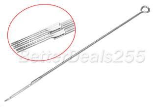 50 PCS 7 RL Sterilize Tattoo Needles 7 Round Liner 7RL