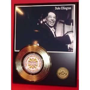 Duke Ellington 24kt Gold Record LTD Edition Display ***FREE PRIORITY