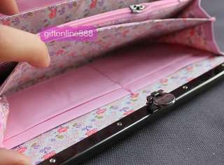 New lovely Hello kitty purse long wallet card bag K102