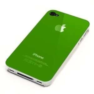 Replicase Hard Crystal Air Jacket Case for Iphone 4 Green