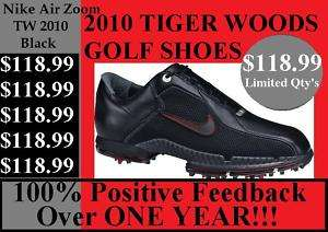 NEW Nike Air Zoom TW Tiger Woods Golf Shoe 9 Medium