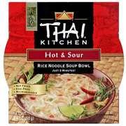 Hot & Sour Rice Noodle Soup Bowl, 2.4 oz (Pack of … Thai Kitchen Hot