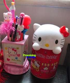 Hello Kitty Trash Can Waste Garbage Bin Wastebaskets RR