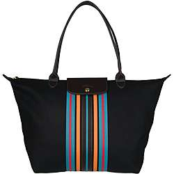 Longchamp Le Pliage Wool Tote Bag