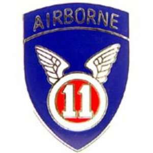 U.S. Army 11th Airborne Division Pin 1 Arts, Crafts