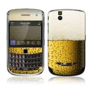 BlackBerry Bold 9650 Skin Decal Sticker   I Love Beer