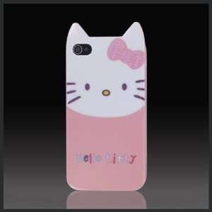 Hello Kitty Peach Face w Ears Enigma flexible TPU soft skin