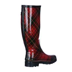 Carrini Womens Red Rain Boots