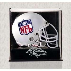 Wall Mounted Ravens Logo Mini Helmet Case Sports