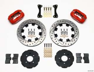 Front & Rear Disc Brake Kit Wilwood 140 6163 DR