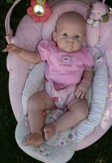 CUDDLES BY DONNA RUBERT~HAPPY~BIG BABY (9 MONTHS) REBORN BABY DOLL KIT