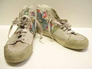 Whoopi Goldberg High Top Tennis Shoes