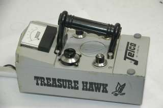 Jetco Treasure Hawk Vintage 1970s Metal Detector |