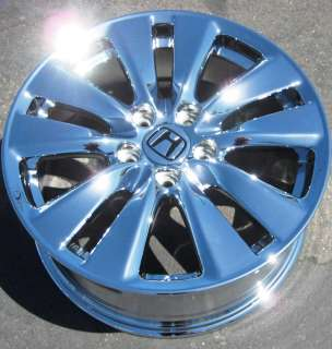 NEW 17 FACTORY HONDA ACCORD CHROME WHEELS RIMS 2011 EXCHANGE  714