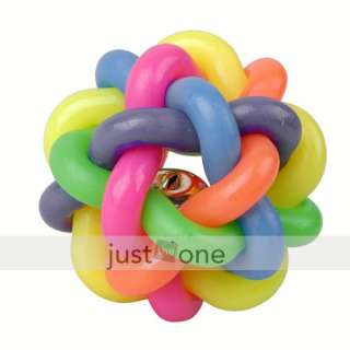 pet dog cat toy colorful rubber round ball fun play toy article nr
