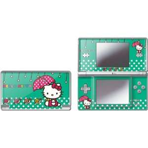 Skinit Hello Kitty Polka Dot Umbrella Vinyl Skin for Nintendo DS Lite