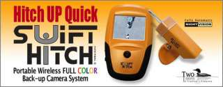 Swift Hitch Deluxe Portable Hand Held Wireless Color LCD Screen Back