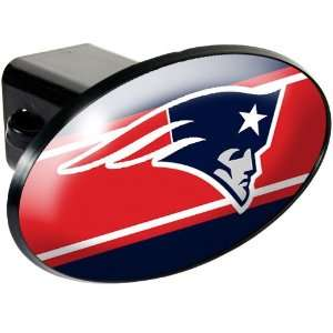 New England Patriots NFL Trailer Hitch Cover Everything
