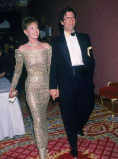 Actress Mary Tyler Moore and Husband, Dr. Robert Levine Premium