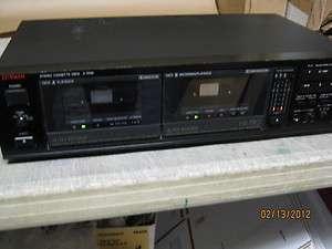 LUXMAN K 110W DUAL CASSETTE DECK