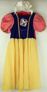 Snow White Costume Dress Up Outfit Size 2 4