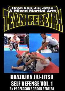 Brazilian Jiu Jitsu (BJJ) SELF DEFENSE VOL 1 DVD