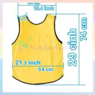 Youth Women/Girl Scrimmage Jersey Vest Basketball Game