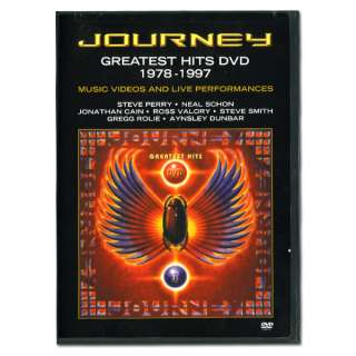 Journeys Greatest Hits 1978 1997   DVD  Shop Ticketmaster