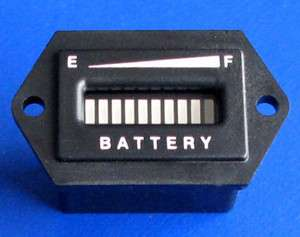 48V Club Car Golf Cart Battery Indicator Battery Discharge Meter 48
