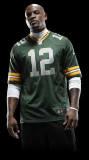 NFL Green Bay Packers (Aaron Rodgers) Mens Football Home Game Jersey
