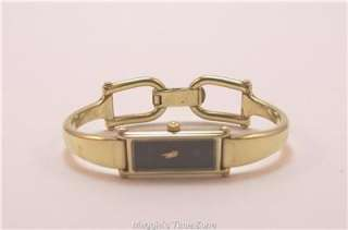 Auentic Gucci 1500L ygp bangle watch Lovely |