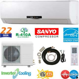 Ductlesss Mini Split Air Conditioner AC Heat Pump NEW