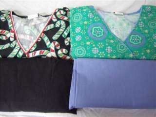 Medical Dental Nurse Scrubs Lot of 7 PRINTED Scrub Sets Size MEDIUM
